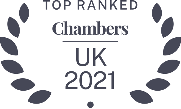 Chambers 2021 Leading Firm
