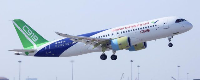 Commercial Aircraft Corporation Of China C919
