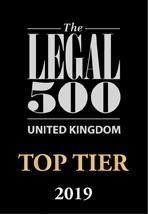 Legal 500 Top Tier Firm