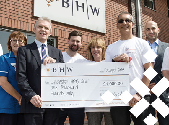 BHW supporting local charities