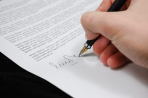electronic signature for legal document